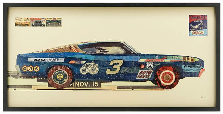 Empire art direct ford torino dimensional collage wall