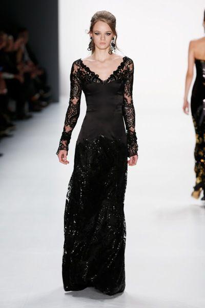 Abendkleid von Guido Maria Kretschmer Mode Herbst 2015 - Winter 2016 zur MB Fashion Week Berlin