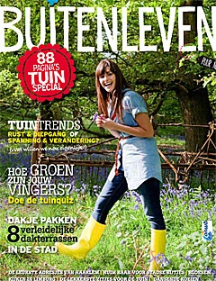 Buitenleven - ANWB's first glossy magazine. Its themes range from the romance of the countryside and the four seasons to the wealth of our cultural heritage. Subjects like gardening, cookery, outdoor and nature, life style, culture and recreation are treated in every issue in an entertaining and diverting manner.