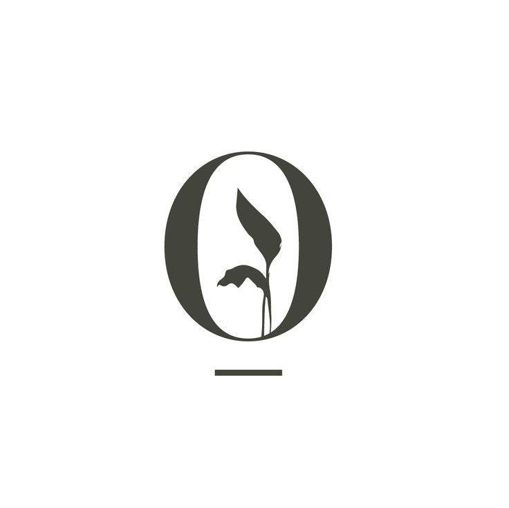 O icon for Interior Landscapes. Icon design, monogram. #monogramdesign