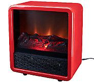 Duraflame1500W Small Portable Heater with Realistic Flame Effect - V32925QVC $60!
