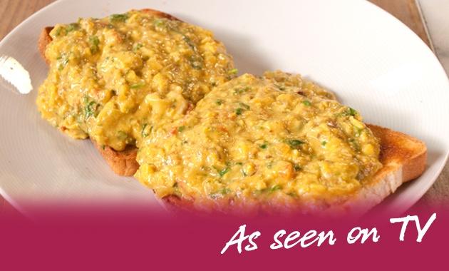 Nina Wadia's Akoori (Parsi Scrambled Eggs)