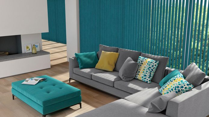 #VerticalBlinds add an elegant contemporary look to your windows. Ideal for sliding glass patio doors and large windows.