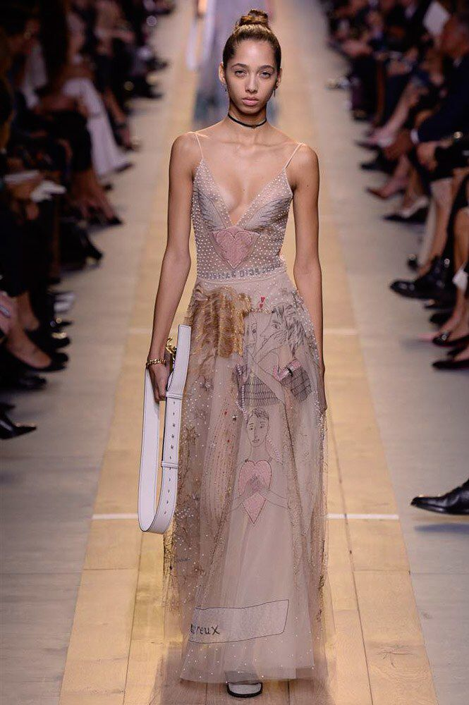 Christian Dior - Spring 2017 Ready-to-Wear                                                                                                                                                                                 More