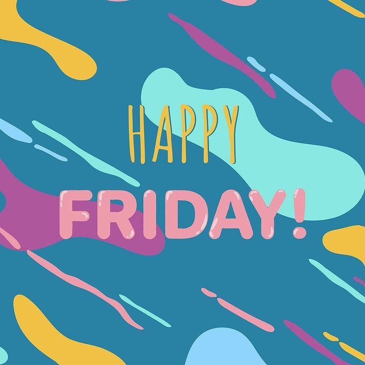 It's Friday! #friyay