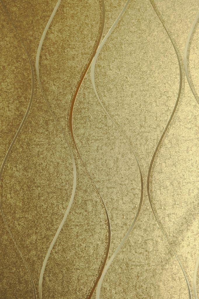 Modelo 701305 Color Dorado Con L 237 Neas En Blanco Gris Y