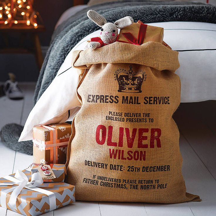 personalised christmas sack by harrow & green | notonthehighstreet.com