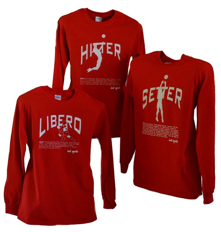 Setter Volleyball Long Sleeve Shirts'