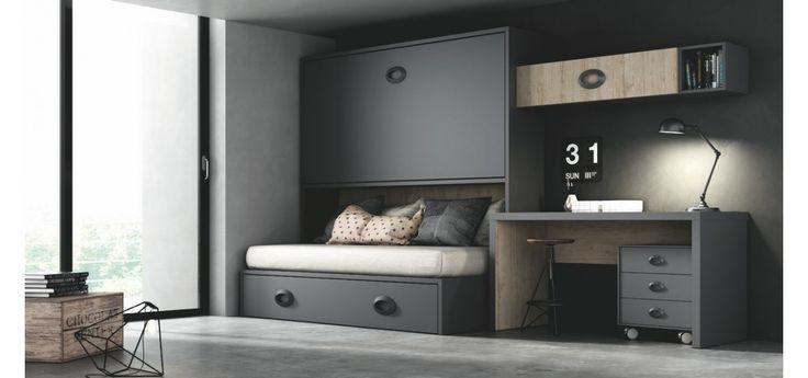 69 best dormitorio adolescente hombre images on pinterest - Studio barcelona muebles ...