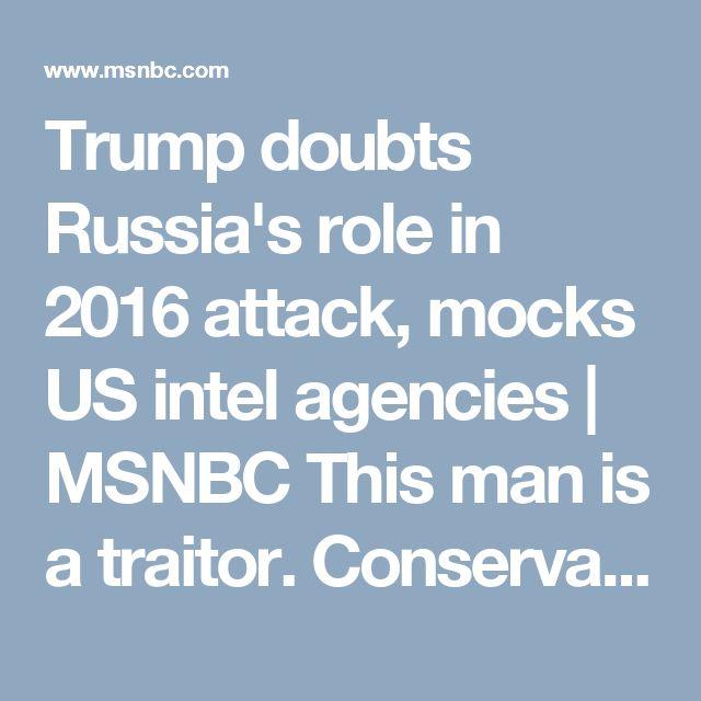 Traitor trump