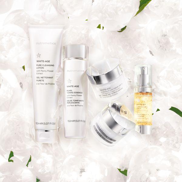 Nutrimetics White-Age Skincare range