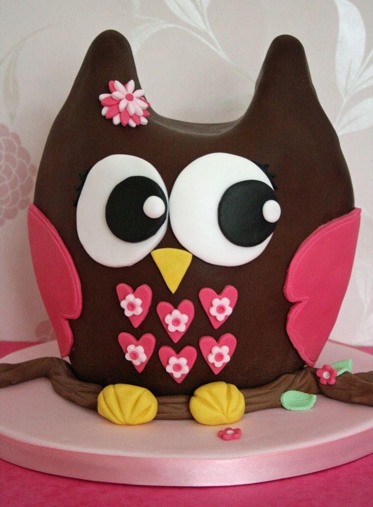 CUTE   GIRL    CAKS | lauralovescakes...: 3D Chocolate Owl Cake