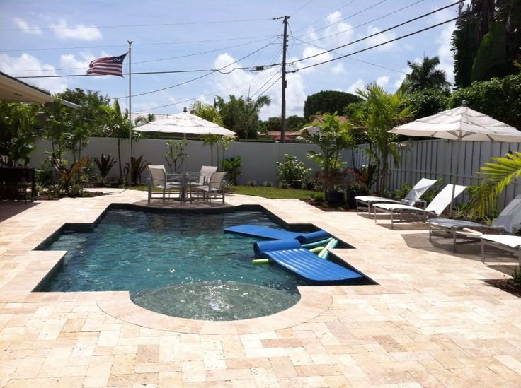 48 best images about pool patio backyard on pinterest for Florida pool and deck