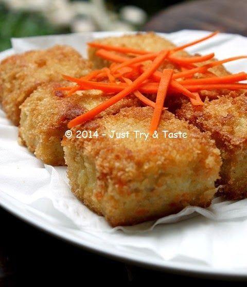 Nugget Ayam Tahu: Just Try & Taste: Nugget Ayam Dengan Wortel: It's Homemade