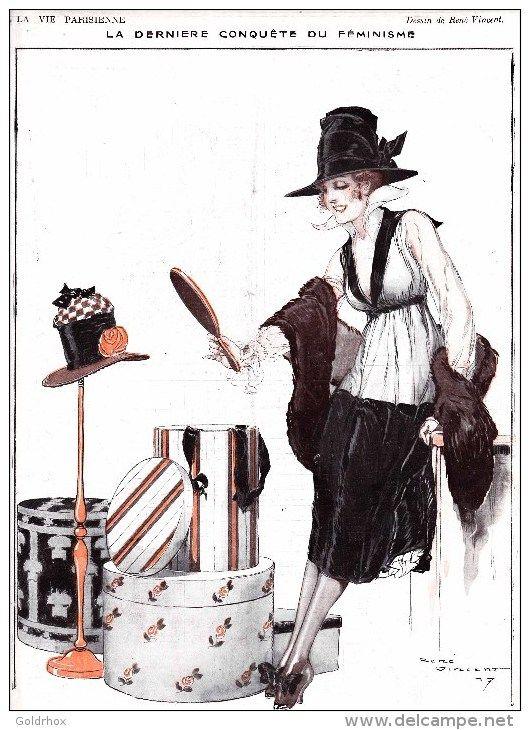 René Vincent. La Vie Parisienne, 1917.