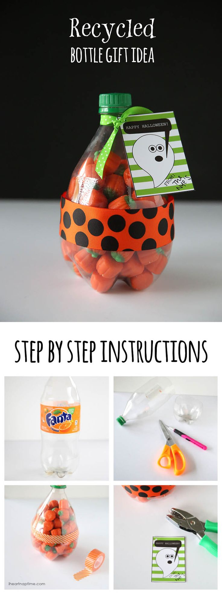 recycled bottle gift idea
