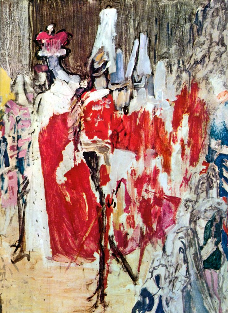 Feliks Topolski's painting of the Coronation of Queen Elizabeth