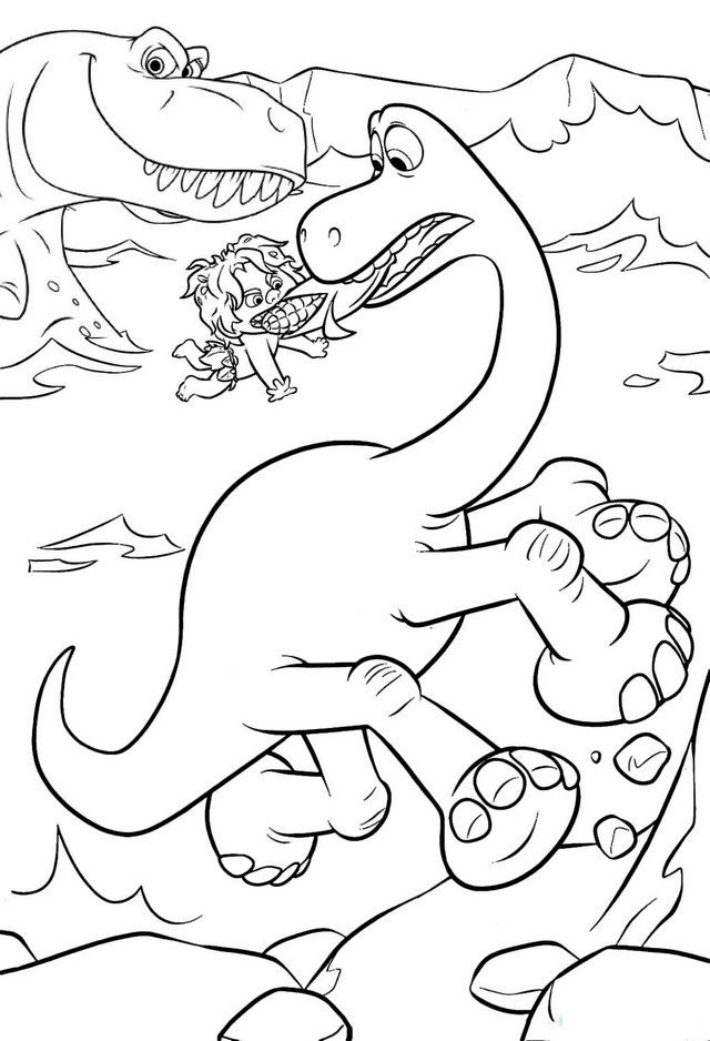 Pin By Deborah Chavious On Coloring Pages Dinosaur Coloring Pages Dinosaur Coloring The Good Dinosaur