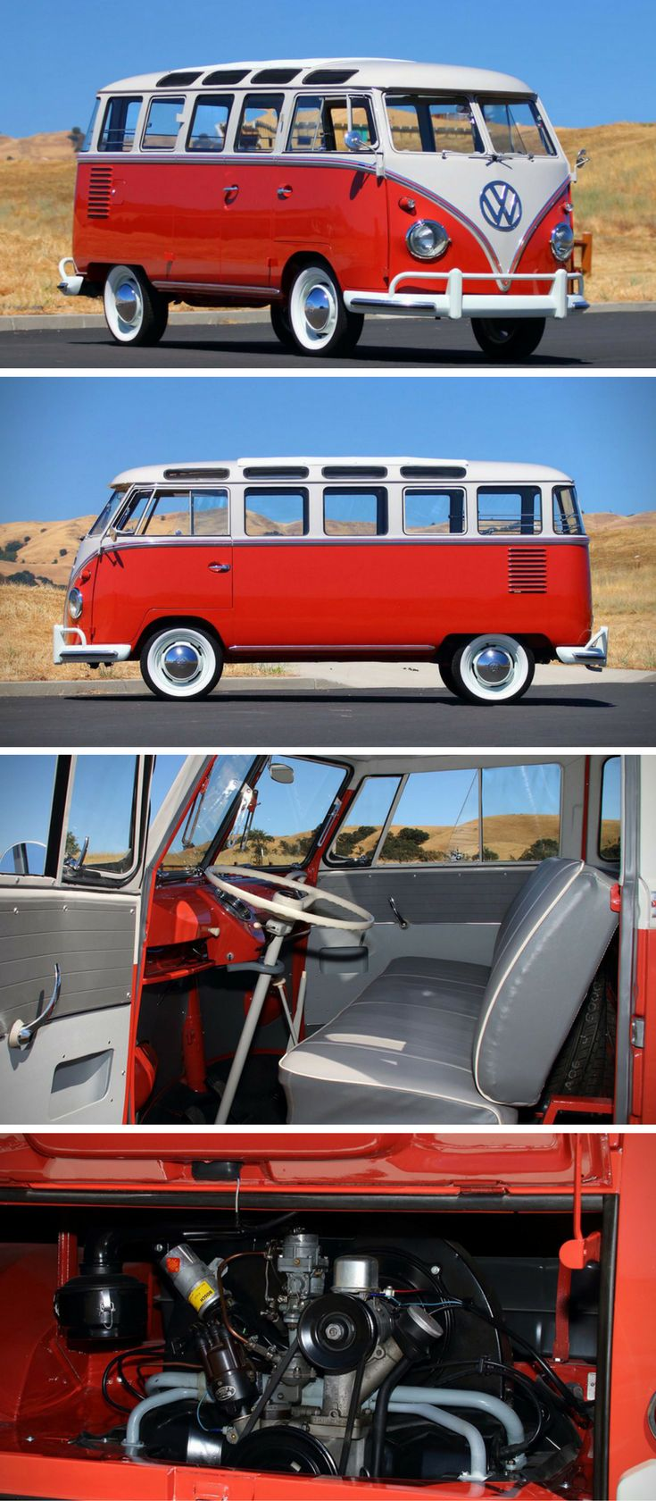 Auction block 1959 volkswagen deluxe 23 window bus