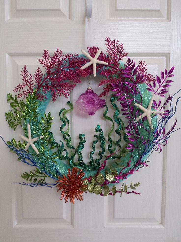 Under the Sea Wreath by BlingBlingbyBri on Etsy