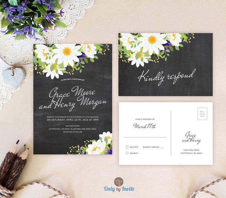 cheap wedding invitations with rsvp ask emmaline affordable