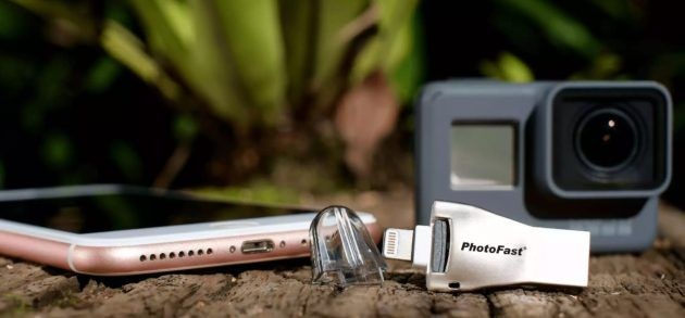 4K iReader di PhotoFast: archiviazione files per iPhone e iPad
