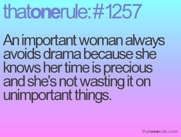 An important woman