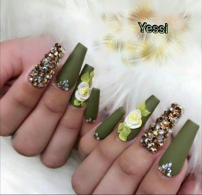 Pin De Mabel Adon Ramirez En Nails Diferentes Formas De Unas Manicura De Unas Unas De Gel Elegantes