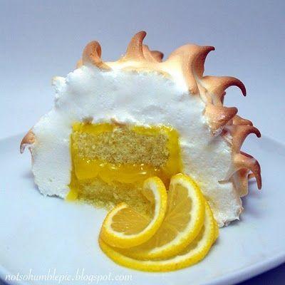Lemon Meringue Lamington