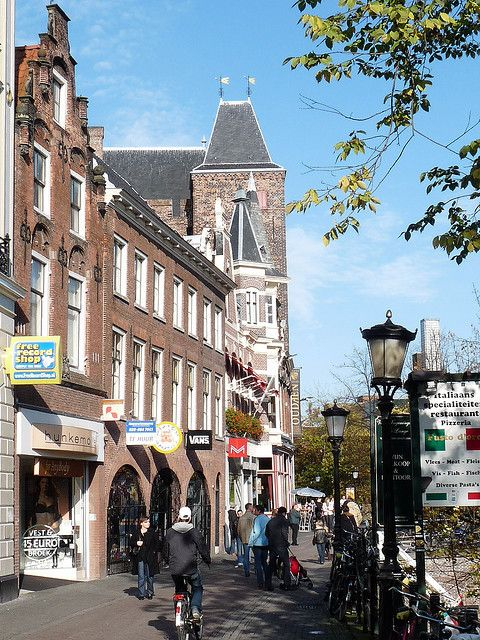 Utrecht, Netherlands Stadskasteel Oudaen. I used to teach a Dental class in that old Castle.  They also made beer there.