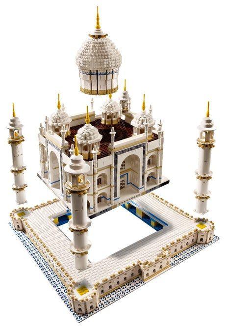 #Architecture: Lego set to create your own miniature Taj Mahal