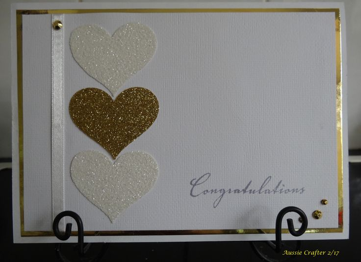 Clean & Simple Engagement Card for dear friends