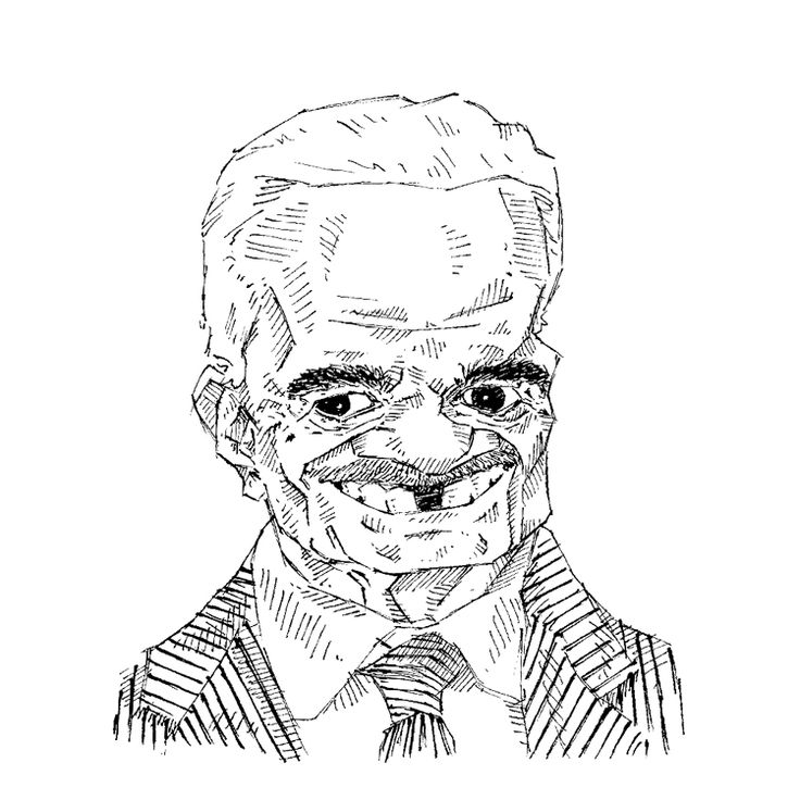 Omar Sharif caricature by Muhammed Ehab