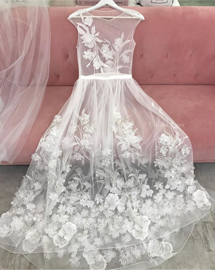 Wedding dress by Ulyana Aster