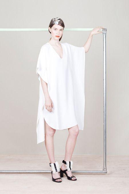 Zero + Maria Cornejo | Resort 2015 Collection | Style.com