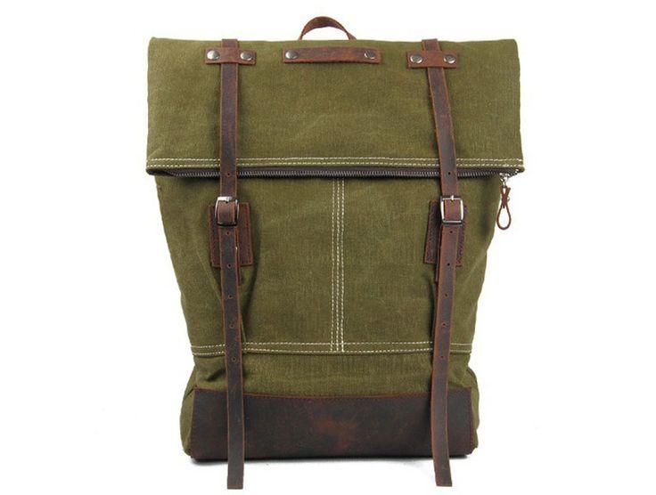 Rugzakken - Canvas Rugzakken Travel Hiking Daypacks - Een uniek product van…