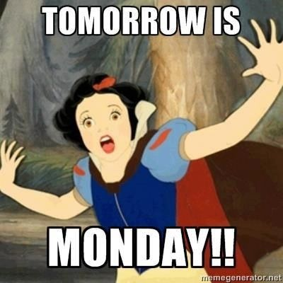 17 Best ideas about Tomorrow Is Monday on Pinterest  Funny work quotes, Funn...