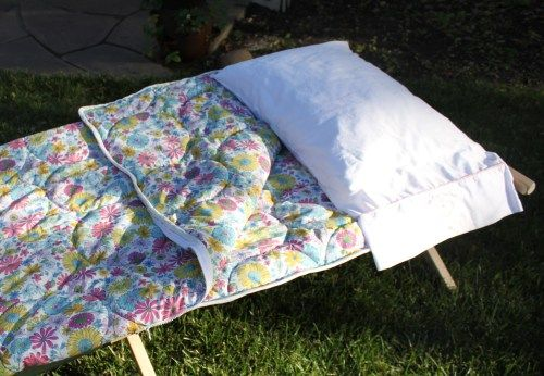 Make Your Own Sleeping Bag Glamping Camping And Vintage