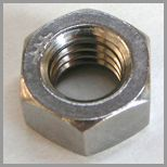 Mahabali Steel Centre is a professional Machine Hex Nuts Manufacturer based in India. We supply a variety of Machine Hex Nuts and Bolts various alloys  Buy wide Variety of   Nuts with discounted price, dimensions range from M3 to M100 and quantities from 1 to 90,000.  Available Materials of Nuts:  Stainless Steel Machine Hex Nut  Alloy Steel Machine Hex Nut  Carbon Steel Machine Hex Nut  Aluminium Machine Hex Nut  Brass Machine Hex Nut    ☆ Certified Manufacturer ☆ Top Quality Assured ☆