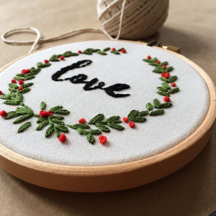 "488 Beğenme, 3 Yorum - Instagram'da @zezehandcraft: ""..and love 💛.. . . . . #embroidery #embroideryhoops #embroideryartist #embroiderylove…"""