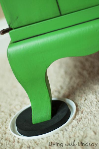 Move furniture the lazy (and smart!) way with furniture sliders via MakelyHome.com