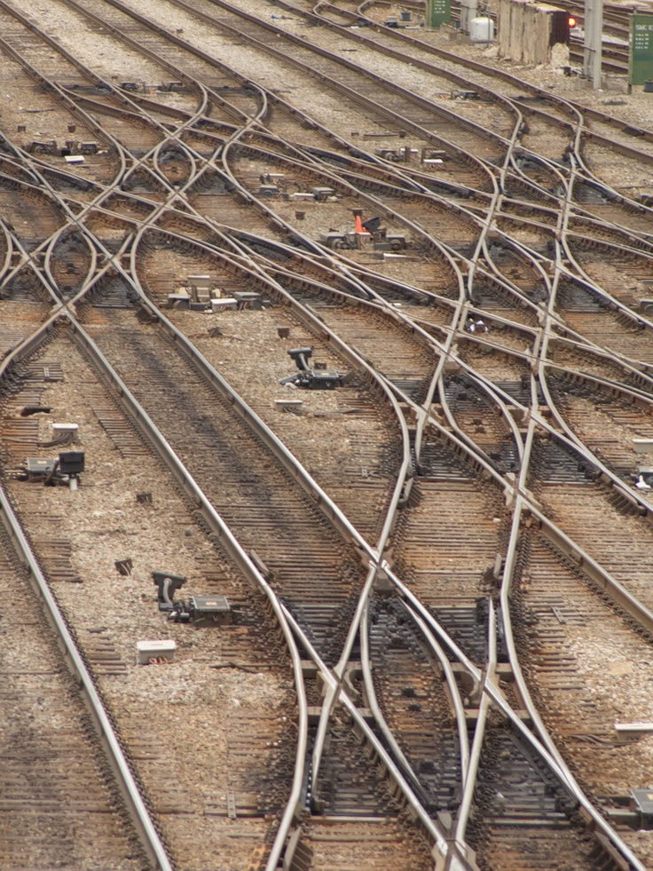 Chicago Map Loop%0A Amtrak Yard in the South Loop  Chicago  Illinois  as is and with special