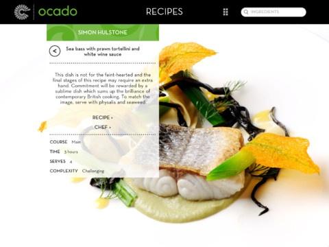 recipe iPad