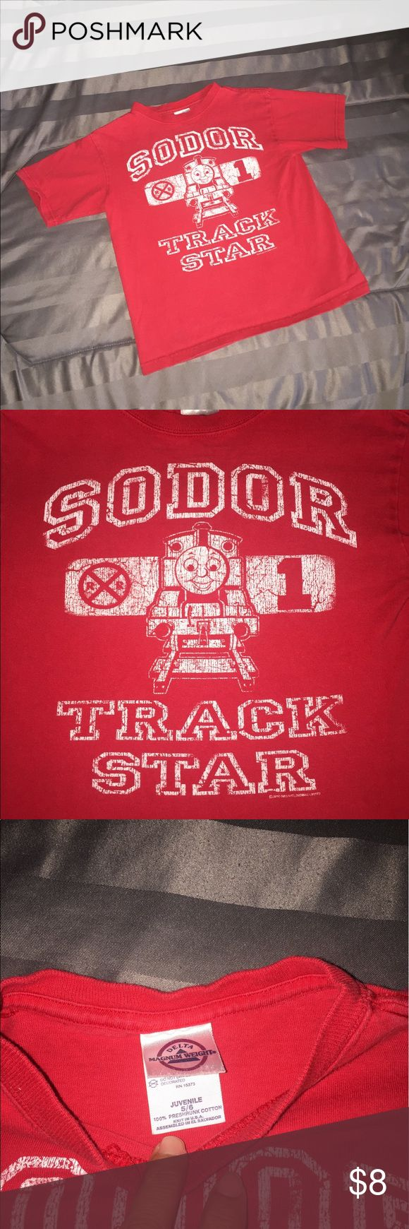 Design your own t-shirt for under $10 -  4 For 10 Distressed Thomas The Train Shirt 5 6 Very Cute T
