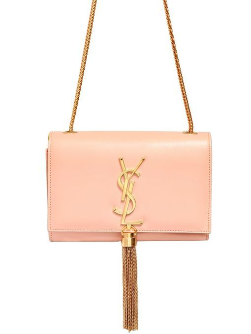 Saint Laurent Monogramme Cream Pink leather Small #bag #ysl | Bag ...
