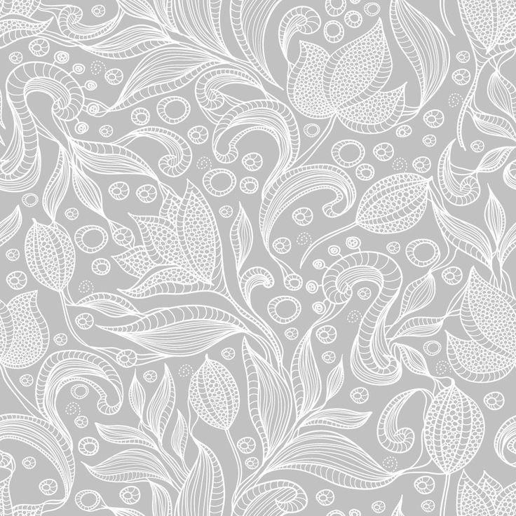 Papel de Parede Floral 1256