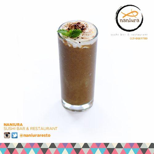 #AvocadoCoffee rasa mix alpukat  kopinya bikin nagih bgt kak! Yuk order Naniura Sushibar Restaurant Jakarta Timur 021-86611789 || Tag ur reviews #NaniuraSushi #Sushi #NaniuraMenu #DeliveryOrder #FreshDrink #SushiBar #SushiPorn