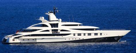 Mikhail Prokhorov's yacht Palladium