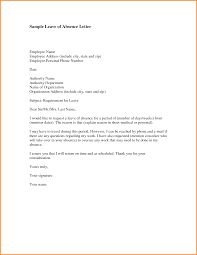 14 Letter Of Absence Workout Spreadsheet Sample Letter For Leave Of Absence From Work Due To Stress
