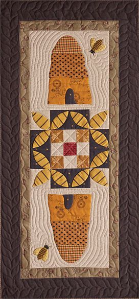 Timeless Traditions Quilts by Norma Whaley - Gathering Honey pattern